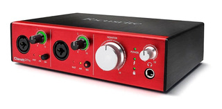 Interfaz De Audio Focusrite Clarett 2 Pre Thunderbolt 10x4