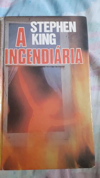 Livro A Incendiária - Stephen King Ed: 1980