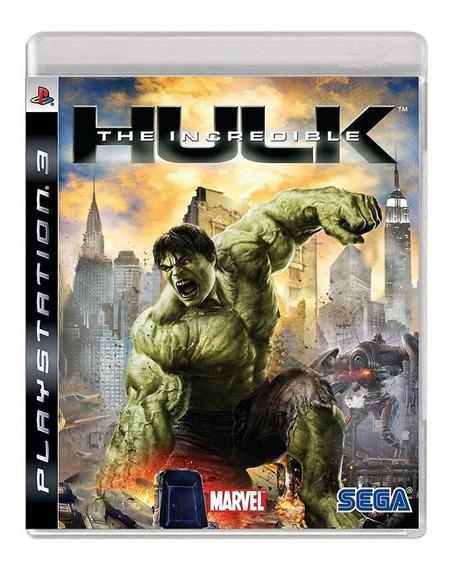 The Incredible Hulk - Ps3 - Usado - Original - Midia Física