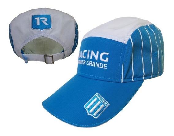 Gorro De Racing Rayas Oficial