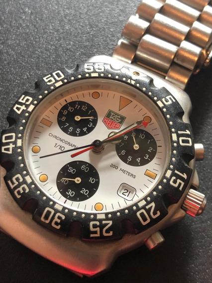 Tag Heuer F1 Chronograph Panda Dial - Sapphire