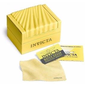 Relógio Cds0431 Invicta Noma Vi 21676 Dourado Promo + Caixa