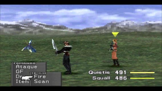 Ps1 Final Fantasy Viii Lacrado #630