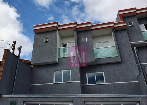 Imagem 1 de 1 de Sobrado Com 2 Dormitórios À Venda, 100 M² Por R$ 450.000,00 - Vila Francisco Matarazzo - Santo André/sp - So0712