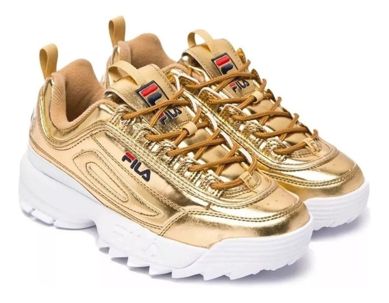 Fila Disruptor 2 Color Dorado