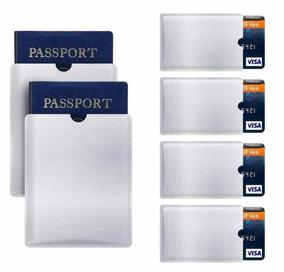 Rfid Protect 30 De Cartão De Crédito E 10 Passaporte