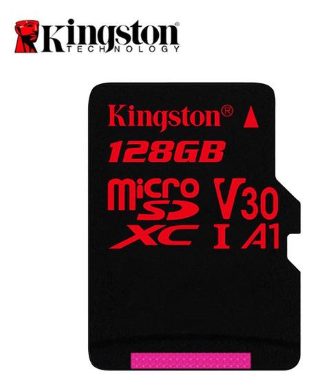 Cartão Microsd Kingston Cartão De Memória Flash 128g Class10