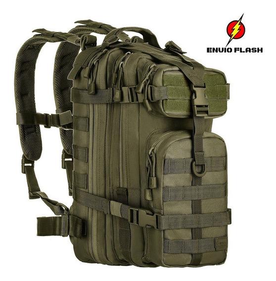 Mochila Invictus Militar Assault Escolar Resistente Verde