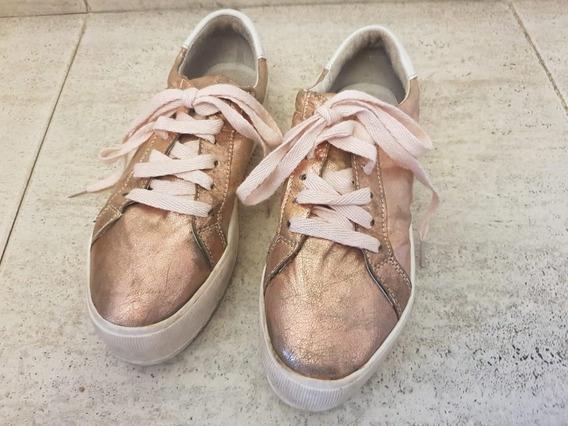 Zapatillas 47 Street Doradas !!!!!