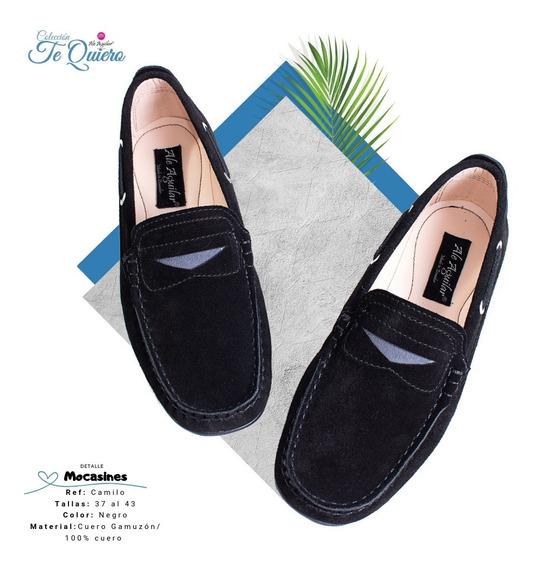 Zapatos Para Hombres Mocasines Tallas Desde 37 Hasta 43