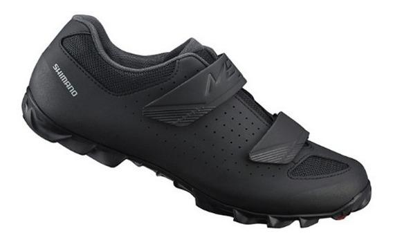 Zapatillas Ciclismo Mtb - Shimano Me100 Negro