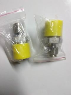Conector Recto 1/4 Od X 1/2 Npt Macho Acero Inoxidable 316