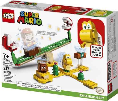 Lego Mario  Superderrape De La Planta Piraña
