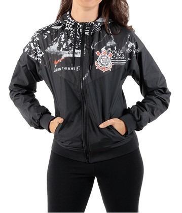 Jaqueta Corinthians Feminina Invasões Nike 2019