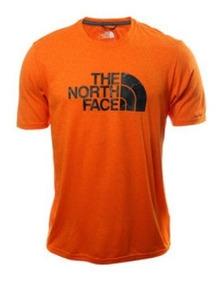 Playera The North Face Hombre Naranja Half Dome Nf0a2w87qbn