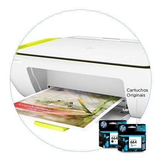 Multifuncional Hp Deskjet Ink Advantage 2136 Imp. Cop. Scan