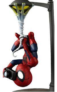 Funko Pop Q Fig Spiderman Spider Cam Original Importado