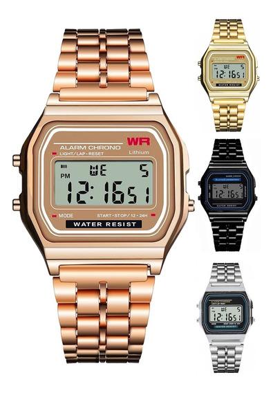 Reloj A168 Luz Vintage