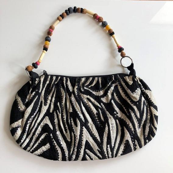 Bolsa Accessorize - Semi Nova - Zebra