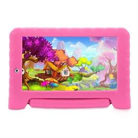Tablet Infantil Android Original Rosa
