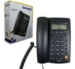 Telefono Homedesk Tc-9200 Alámbrico Con Identificador !