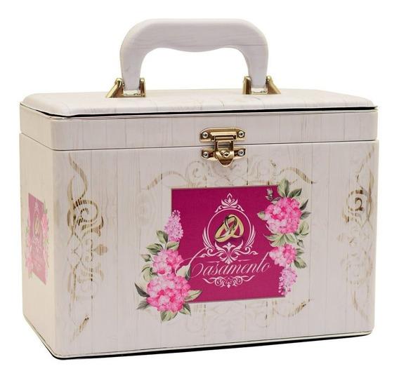 Álbum Fotográfico Casamento Maleta Box Luxo 240 Fotos 15x21