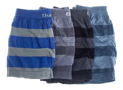Imagen 1 de 10 de Pack De 6 Boxers Dufour Original De Hombre Rayados Sin Costuras Descuentos Por Cantidad Tienda Rupless Colores Surtidos
