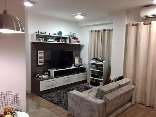 Apartamento Com 1 Dormitório À Venda, 50 M² Por R$ 480.000,00 - Cambuí - Campinas/sp - Ap3457