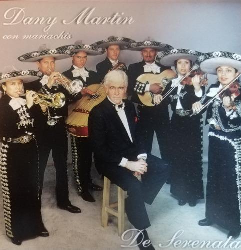 Dany Martin Con Mariachis Cd Original Nuevo Cerrado