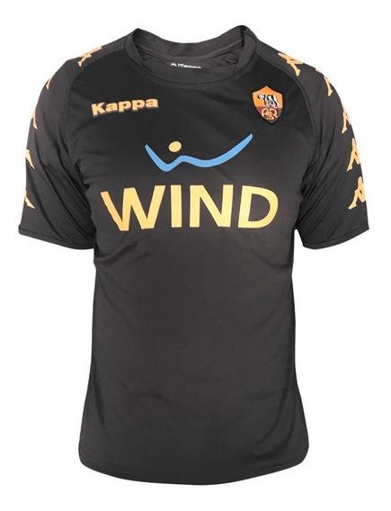 Playera Jersey Futbol As Roma Asr Hombre Kappa Full Je-402