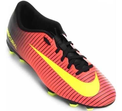 Chuteira Nike Mercurial Vapor 13 Club Carmim