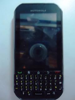 Nextel Motorola Titanium Qwerty Câmera 5mp Usado