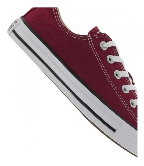 Tênis Chuck Taylor All Star Ct00010008 Bordo/preto/branco