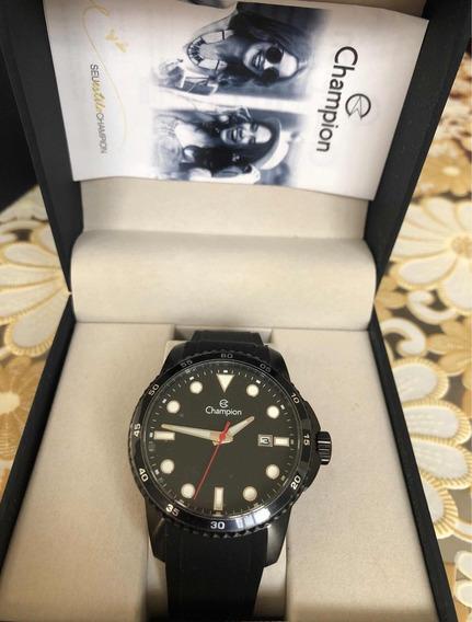 Relógio Champion Masculino Pulseira De Silicone Ca31686p