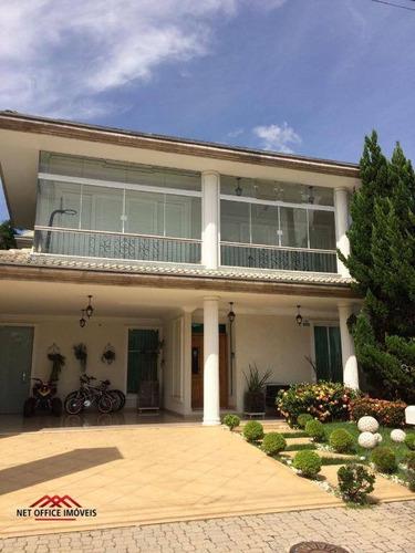 Imagem 1 de 28 de Sobrado Com 4 Dormitórios À Venda, 369 M² Por R$ 2.340.000,00 - Jardim Aquarius - São José Dos Campos/sp - So0108