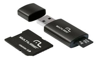 Pen Drive 8gb 3 Em 1 Multilaser Autorizada Motorola