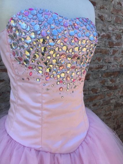 Espectacular Vestido De Fiesta 15 Años