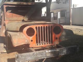 Casco Y Chasis De Jeep Para Reparar