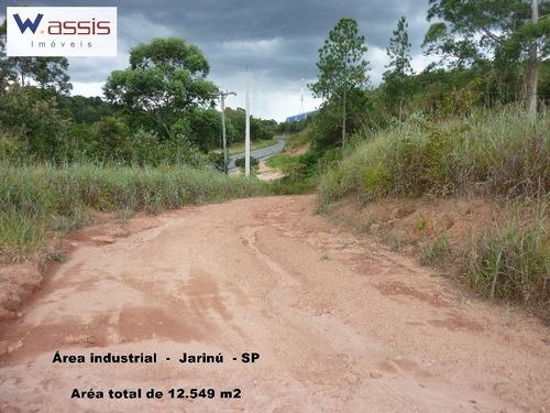 Area Industrial Em Jarinu - Sp, Soares - Ar00002