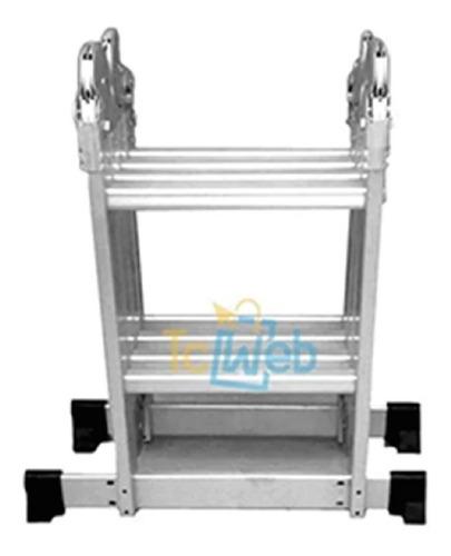 Escalera 2.6m De Aluminio Multifuncion 8 Escalones