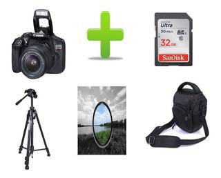 Camara Canon Eos Rebel T6 18mp Full Hd+18-55mm+super Combo