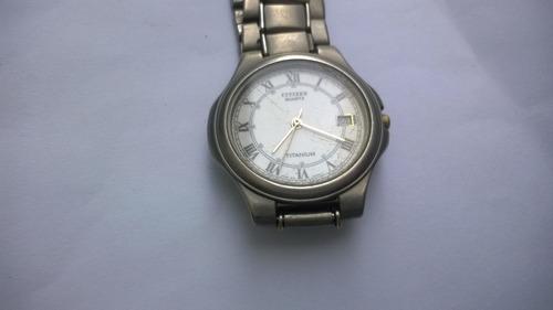 Reloj Citizen Titanium Original Hombres