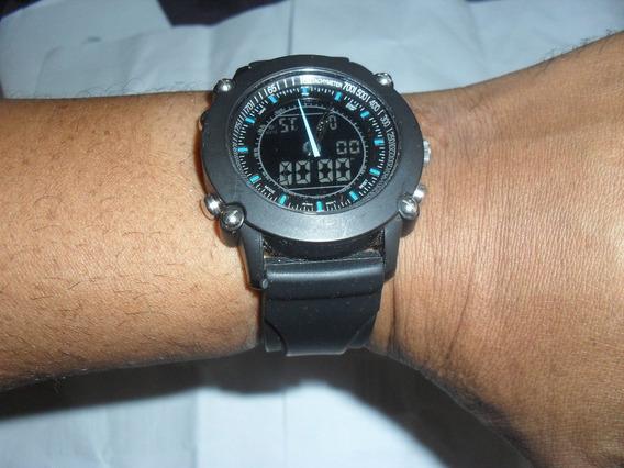 Relógio Digital Analógico Athletic Works Pulseira Borracha