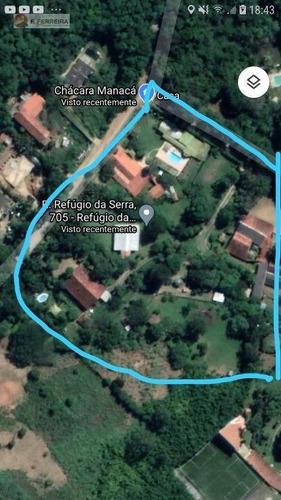 Chácara Com 12 Dormitórios À Venda, 16408 M² Por R$ 2.800.000,00 - Refúgio Da Serra - Itapecerica Da Serra/sp - Ch0080