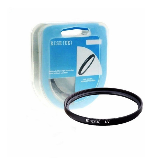 Filtro Uv Dhd Rosca 49mm Lentes Canon 50mm F1.8 Stm