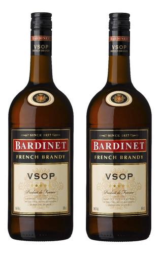 Imagen 1 de 1 de Brandy Cogñac Bardinet Vsop 2 Botellas Envio Gratis En Caba