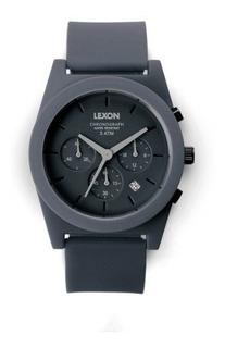 Reloj Cronografo Dark Grey Spring Cuarzo Analogico
