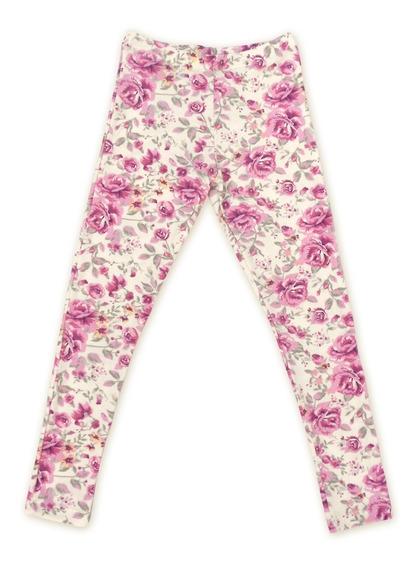 Calzas Leggings Nena Blisant Estampadas Con Flores De Modal