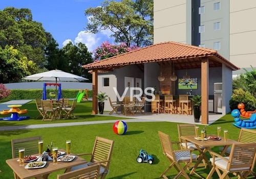 Imagem 1 de 5 de Lançamento Na Planta - 2 Dormitórios Com Elevador E Varanda À Venda, 48 M² Por R$ 180.000 - Pimenteiras - Teresópolis/rj - Ap0441