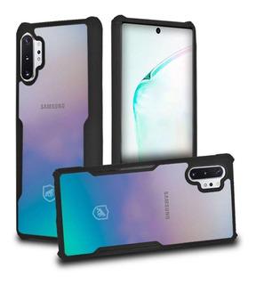 Capa Dual Shock X Preta - Para Samsung Galaxy Note 10 Plus